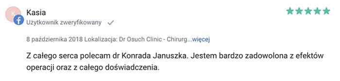 Lipolife liposukcja slim lipo klinika doktor Osuch opinie