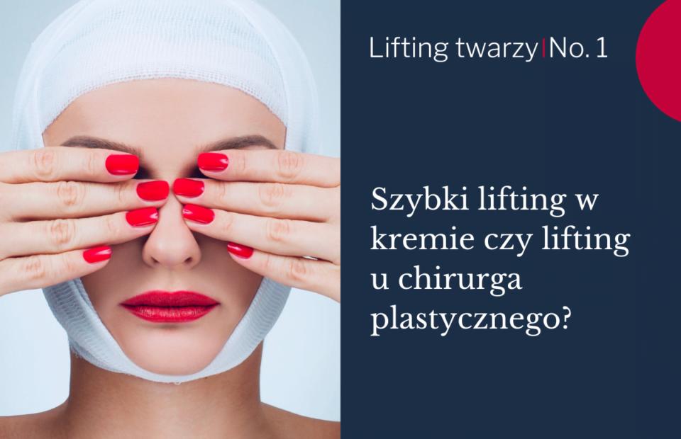 krem czy lifting